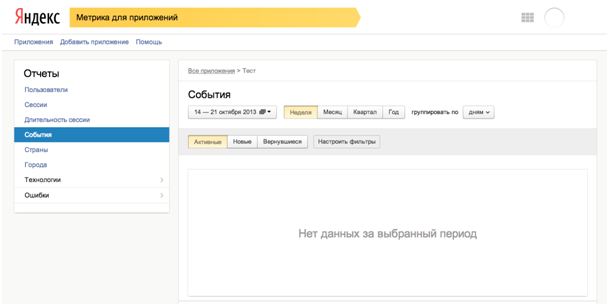 yandex.metrica apps login Yandex launches analytics tool for mobile apps