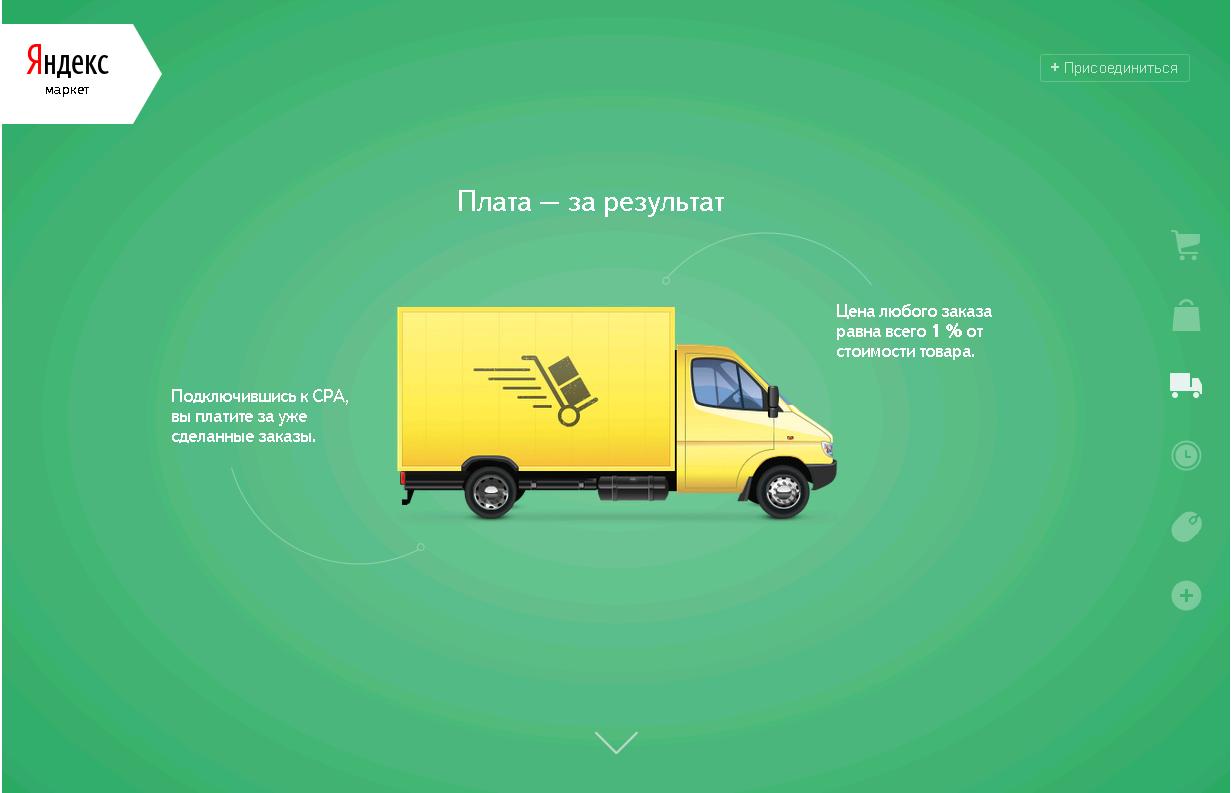 Yandex.Market CPA Yandex.Market Reloaded