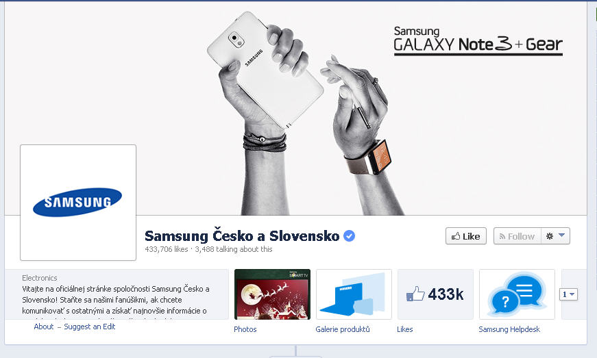 Samsung CZ SK Czech Effie: Social Media is again and again a surprise!