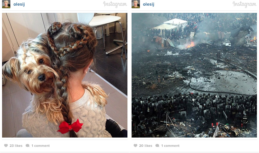 kiev instagram war photos 06 Kiev on Instagram: Before and After Euromaidan