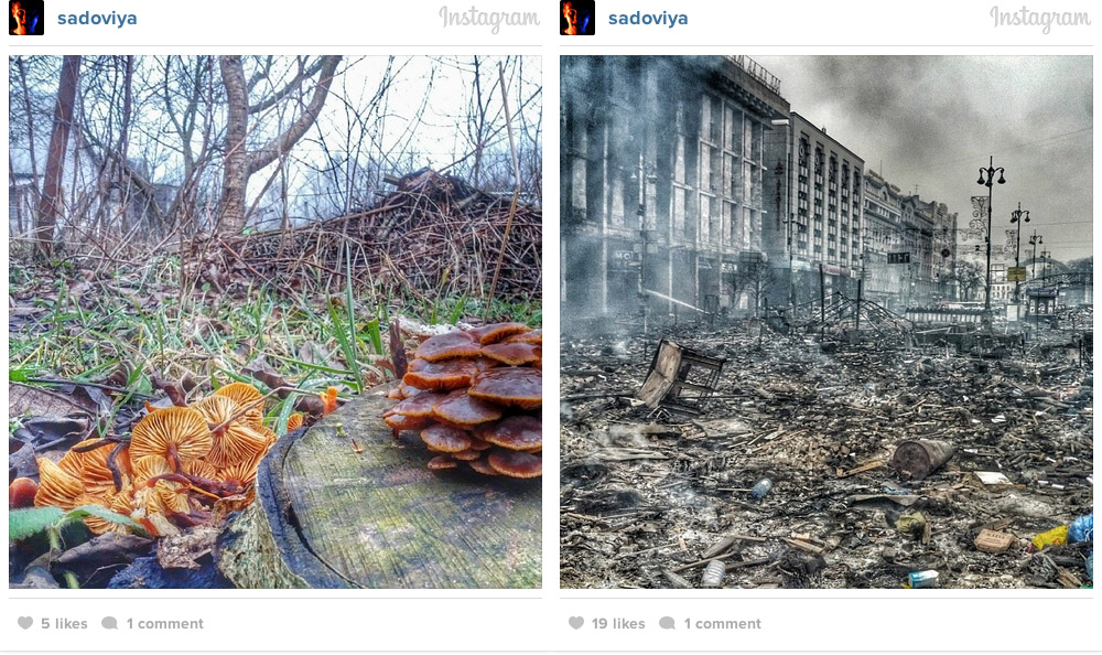 kiev instagram war photos 19 Kiev on Instagram: Before and After Euromaidan