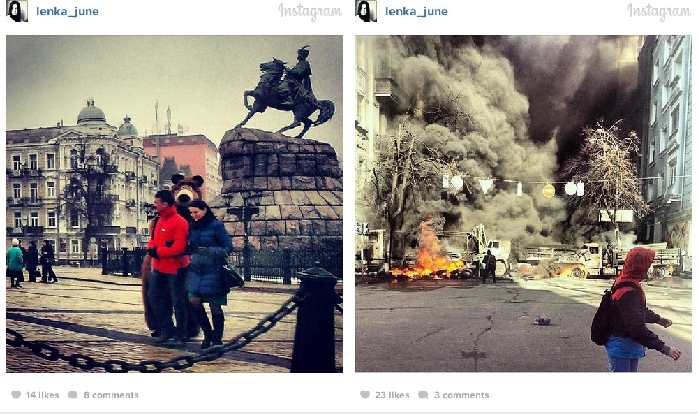 kiev instagram war photos 21 Kiev on Instagram: Before and After Euromaidan