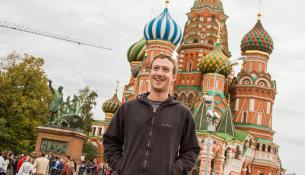 Mark Zuckerberg Russia