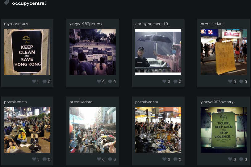 protest instagram Instagram blocked in China due to the Hong Kong protest